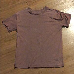 Z Supply Brown/burgundy TShirt (XS)